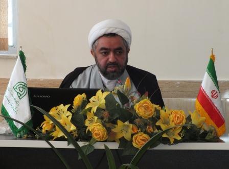 حجت الاسلام غلامرضا زارع مهرجردی- رییس دانشکده تربیت مدرس قرآن مشهد